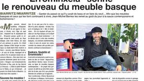 """""""Errominxela"""" sonne le renouveau du meuble basque"""