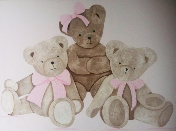 Trio doudous fille