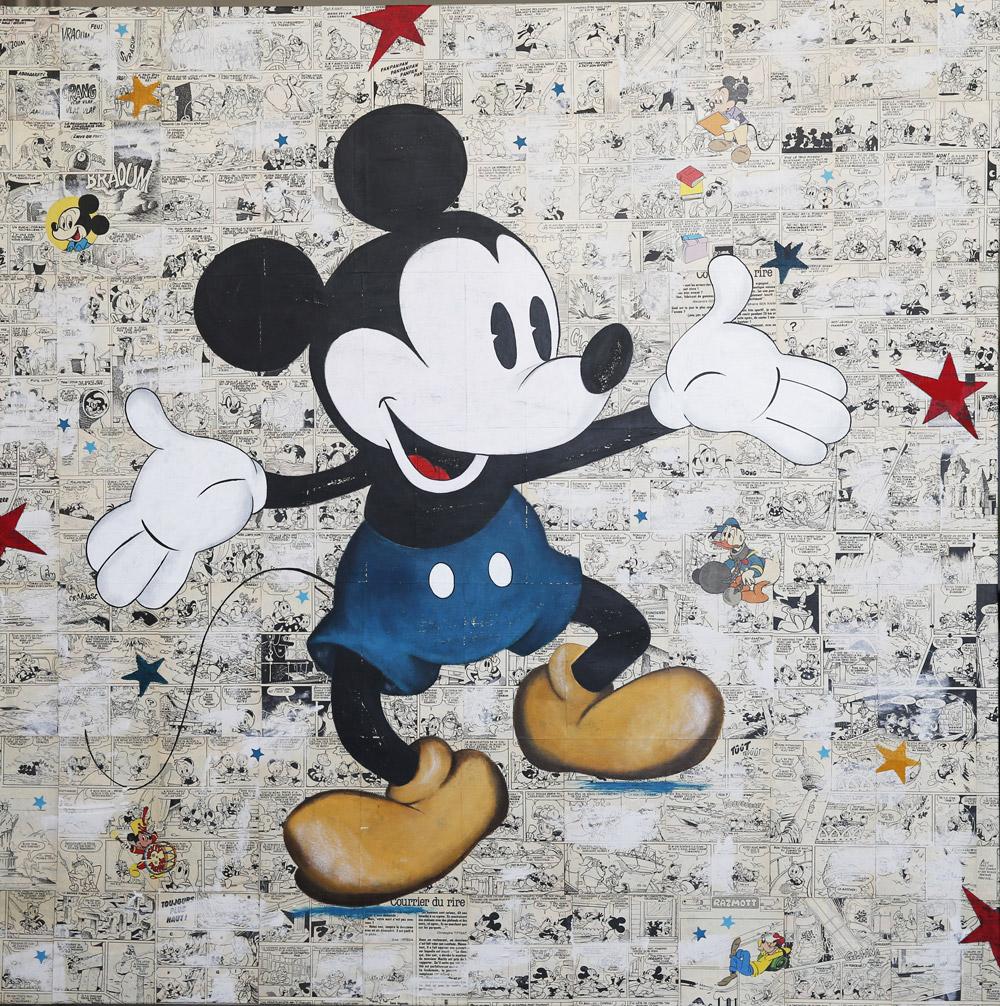 """Mickey """"joyeux"""""""