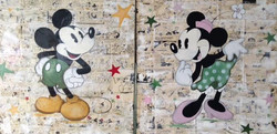 Duo Mickey/Minnie