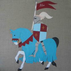 chevalier sur cheval
