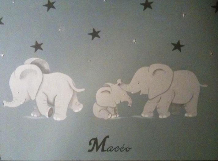 Trio éléphanteaux