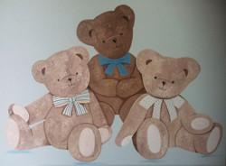 Trio ours garçon