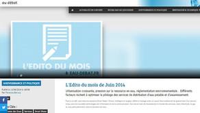 Edito Juin 2014 L'O au débat