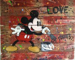 Mickey Love Cap Ferret