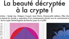 La beauté décryptée à la crypte