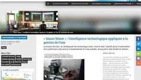 """""""Smart Water"""" : l'intelligence technologique appliquée à la gestion de l'eau"""