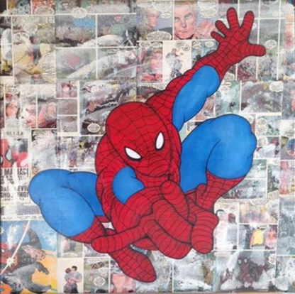 Spiderman-collage