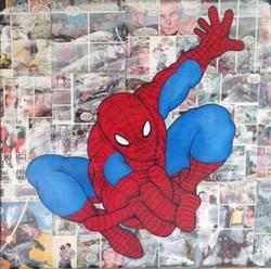 Spiderman-collage