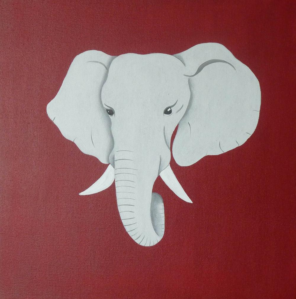 trophée éléphant