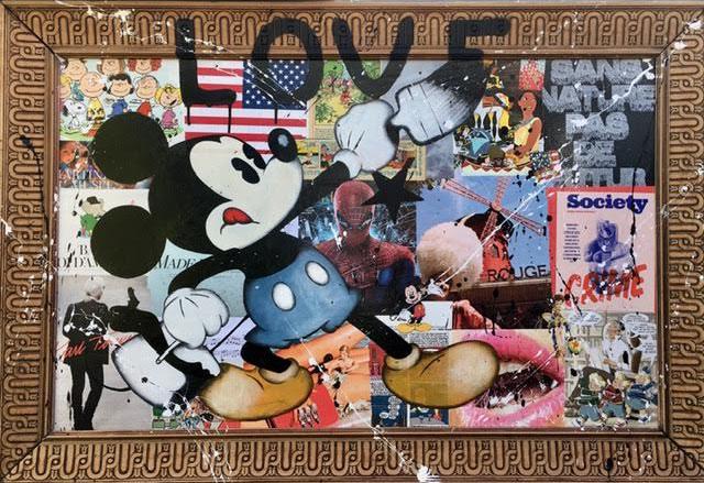 Mickey LOVE cadre