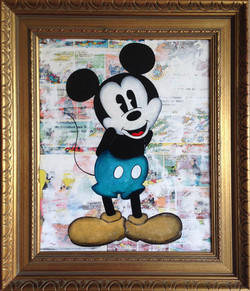 """Mickey """"timide"""""""