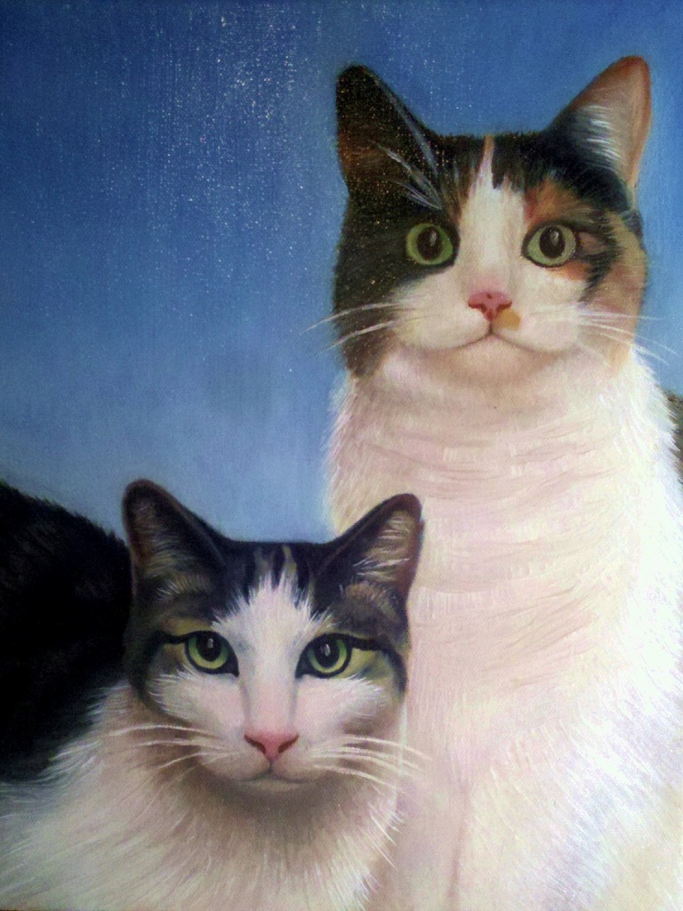 **** SOLD **** Two Cats