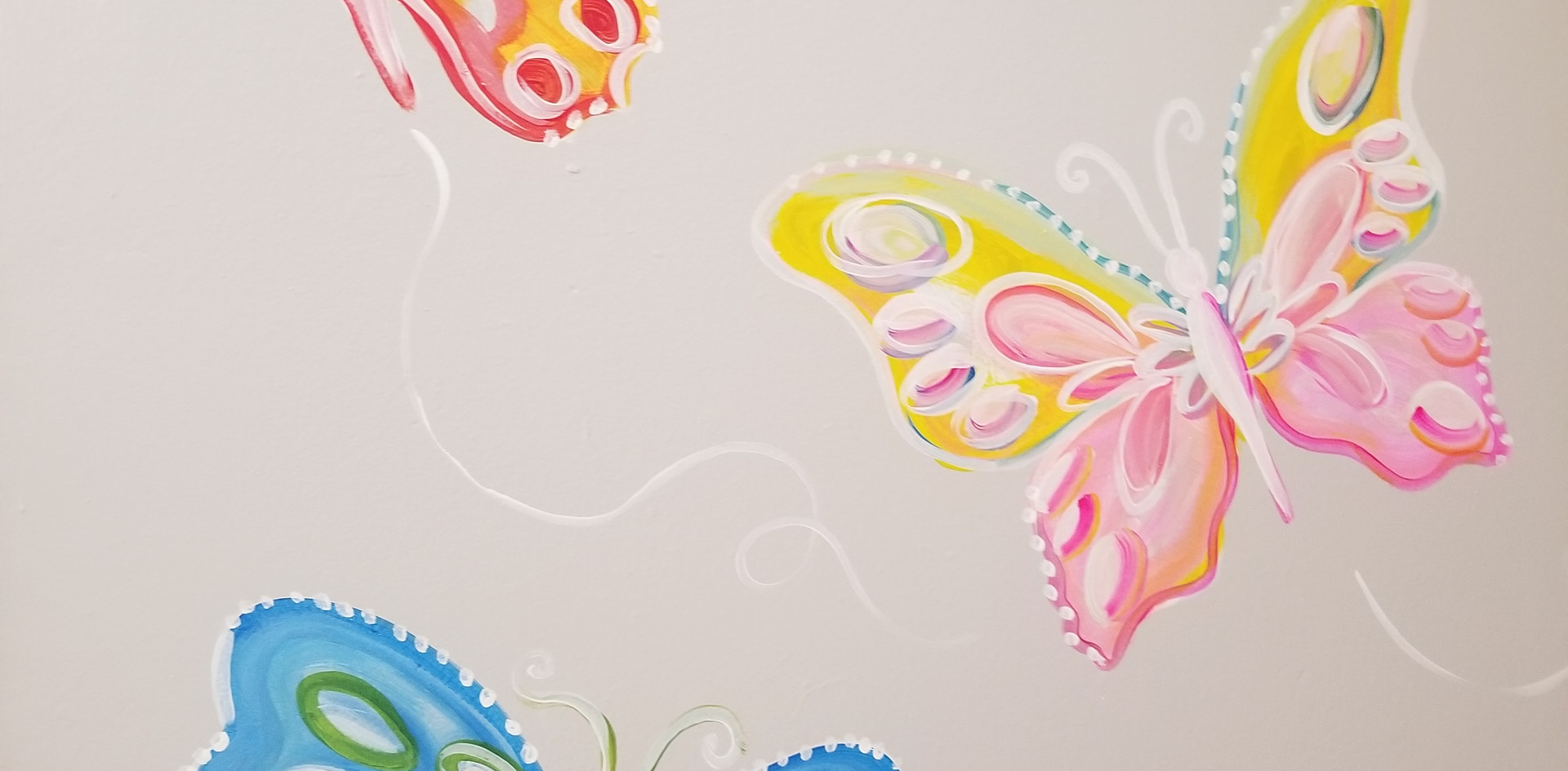 Mural for a little girls bedroom