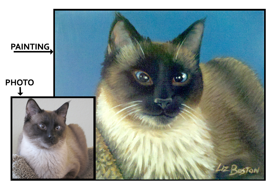 **** SOLD **** Siamese