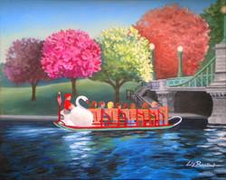 **** SOLD **** Boston Swanboat