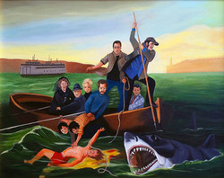 **** SOLD **** Kintner and the Shark