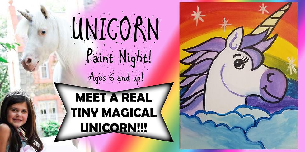 Meet a Unicorn Paint Night!