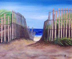 **** SOLD **** Path to the Beach