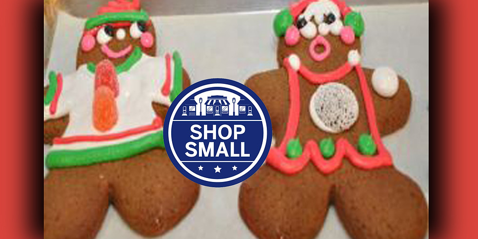 Decorate some Gingerbread Men!