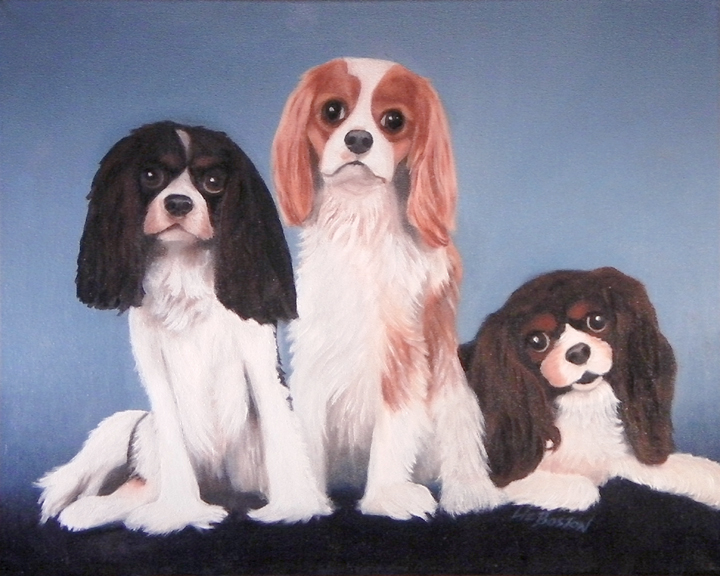 **** SOLD **** Three Dogs