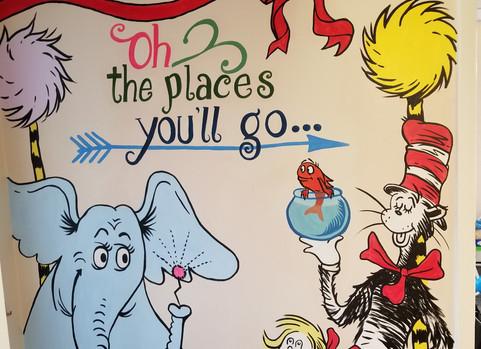 Mural for a preschool