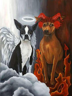 **** SOLD **** Angels and Demons