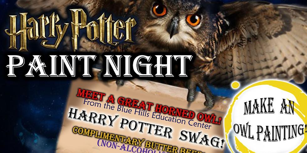 Harry Potter Paint Night - Owl Encounter