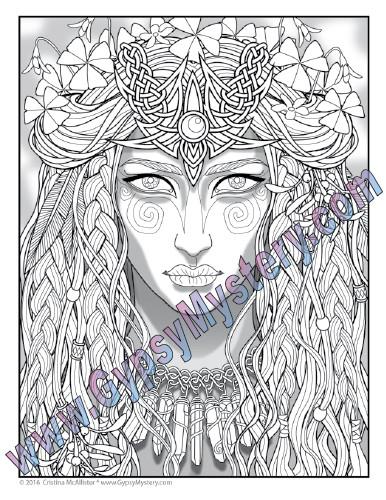 The Druid Priestess
