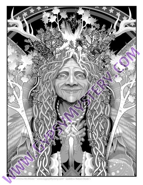 Elder Forest Spirit (detail)