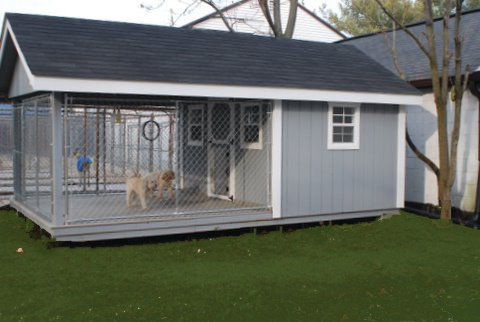 Town House for Dogs & Cats_bungalow