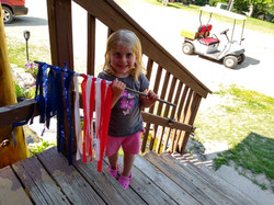 Flag crafts for the 4th.