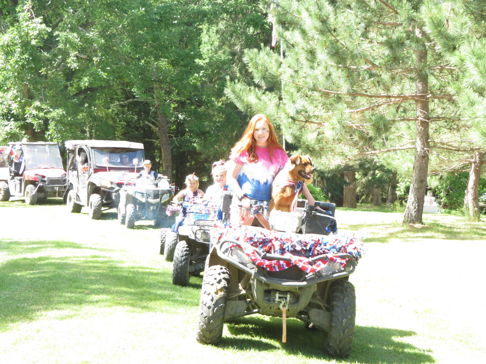 4th of July 4 wheeler parade