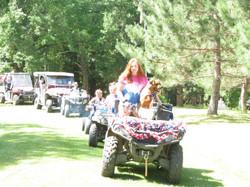 4th of July 4 wheeler parade