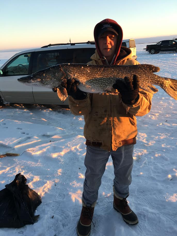 15lb northern Speared on 3Rd River