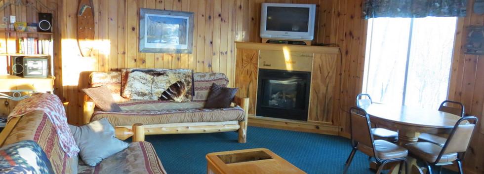 Walleye Retreat has lots of room