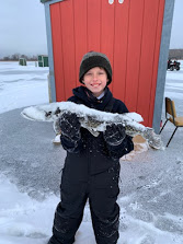 Nice Pike first time spearing.