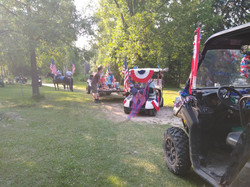 At Dixon Lake we do the 4th up right.
