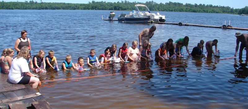 Childern Activities fun in the water