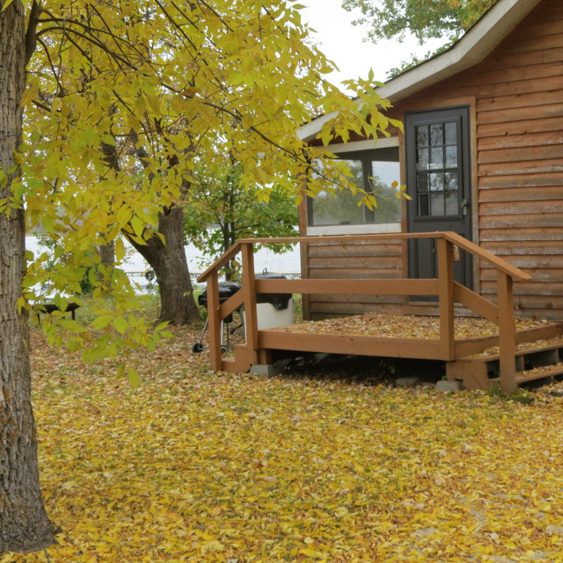 Cabins open Fall winter and Summer