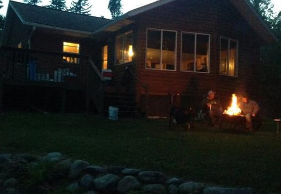 Northern Mn Cabin Walleye Retreat Cabin