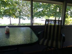 bird nest cabin rental screen porch