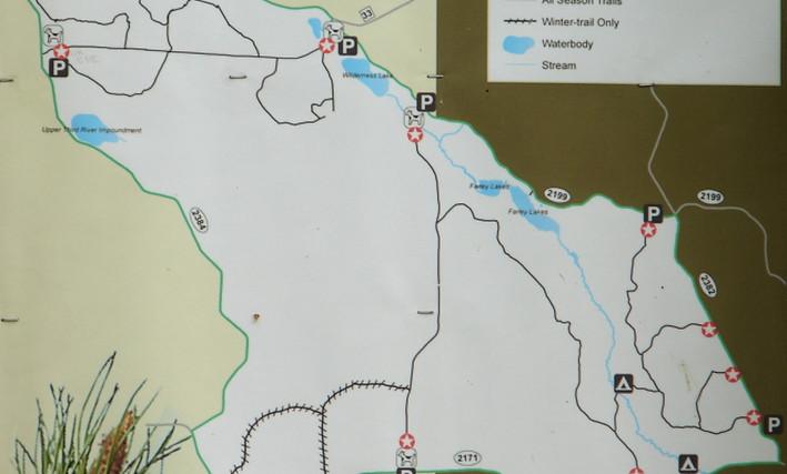 west winnie non motorized walking trails