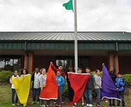 kids school flag program