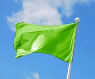 flag green
