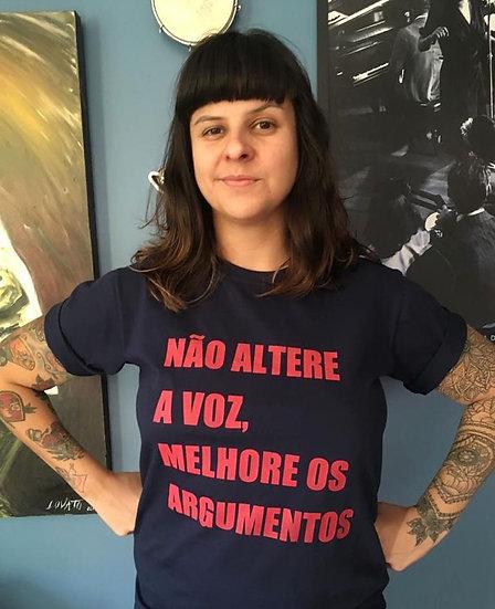 CAMISETA MELHORE OS ARGUMENTOS
