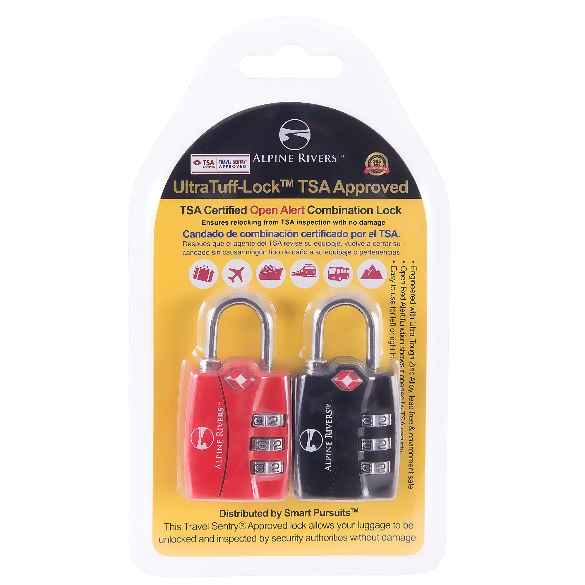 UltraTuff™ TSA Locks 2017 Design