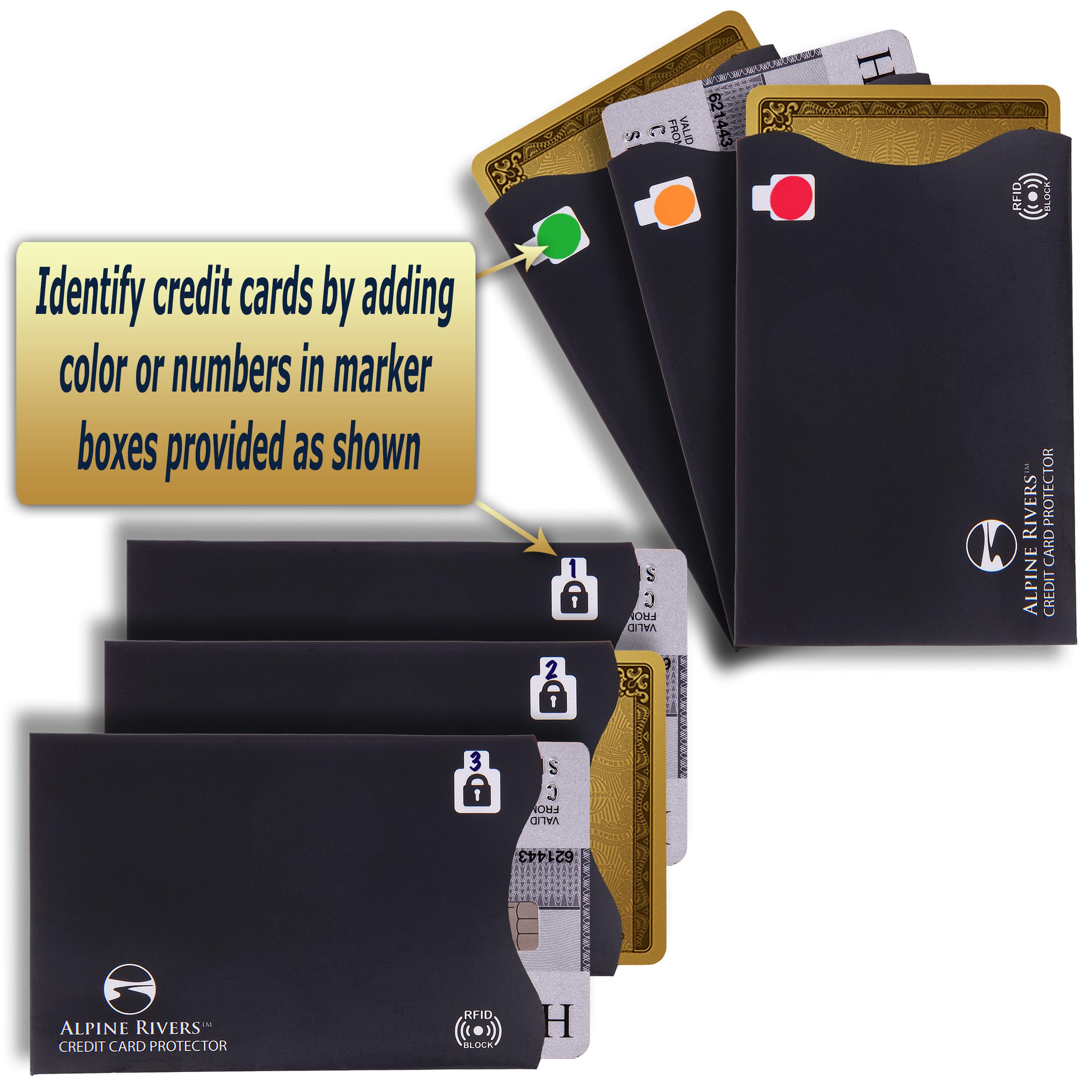 Premium RFID Blocking Sleeves