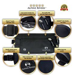 Alpine Rivers Money Belt Features