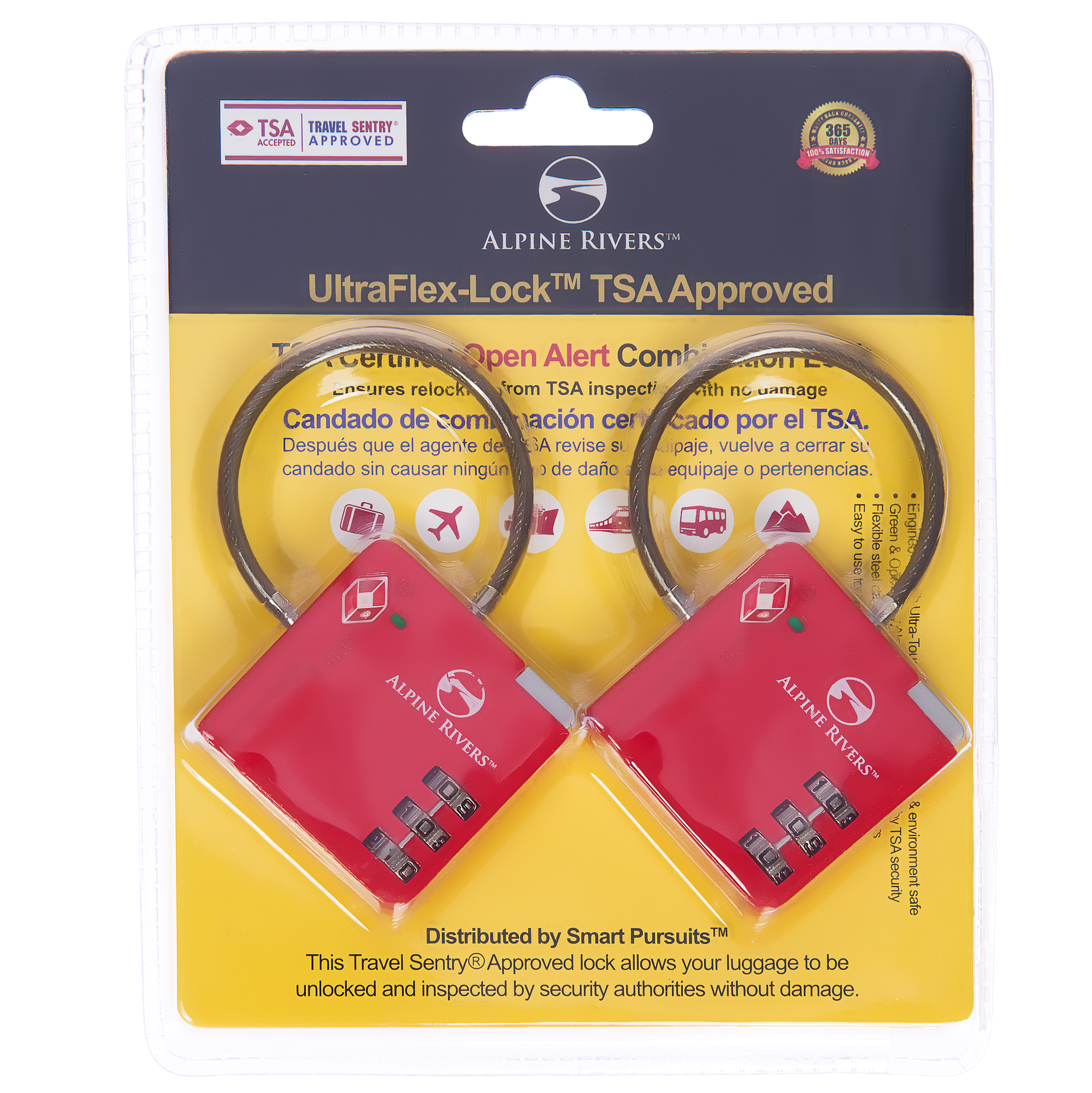UltraFlex™ TSA Locks 2017 Design